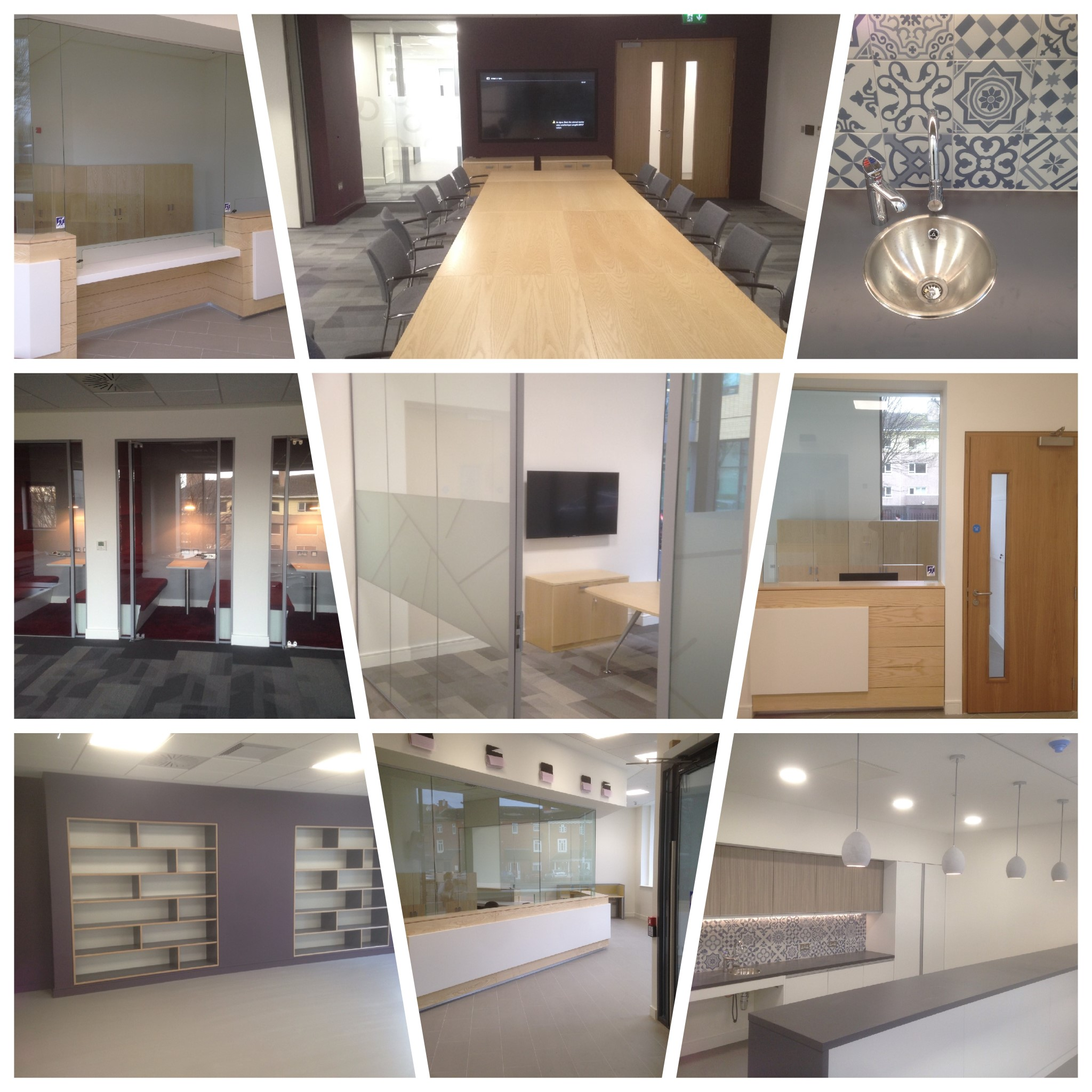 Completion of fit out of bloom house for the opw walls construction limited - Squarespace dublin office ...